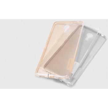 Силиконовый матовый полупрозрачный чехол с улучшенной защитой элементов корпуса (заглушки) для Meizu M3 Note