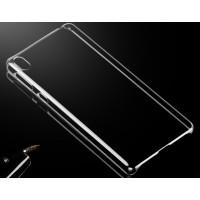 Пластиковый транспарентный чехол для Sony Xperia E5