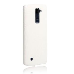 Чехол накладка текстурная отделка Кожа для LG K10