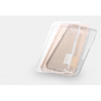 Силиконовый матовый полупрозрачный чехол с улучшенной защитой элементов корпуса (заглушки) для Samsung Galaxy J5 (2016)