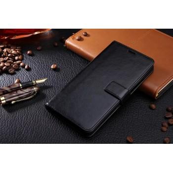 Глнцевый чехол портмоне подставка на пластиковой основе на магнитной защелке для Samsung Galaxy J5 (2016)