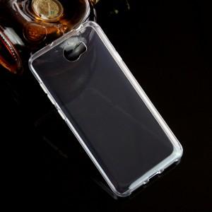 Силиконовый глянцевый транспарентный чехол для Huawei Honor 5A/Y5 II