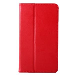 Чехол книжка подставка с рамочной защитой экрана для Lenovo Tab 2 A7-20 Красный
