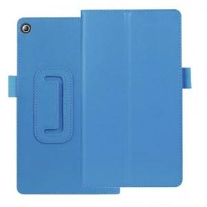 Чехол книжка подставка с рамочной защитой экрана и крепежом для стилуса для Lenovo Tab 2 A7-20
