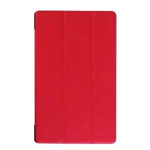 Сегментарный чехол книжка подставка на непрозрачной поликарбонатной основе для Lenovo Tab 3 8