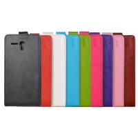 Чехол вертикальная книжка на пластиковой основе на магнитной защелке для Alcatel One Touch POP 3 5.5
