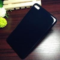 Силиконовый глянцевый непрозрачный чехол для Huawei MediaPad T2 7.0 Pro Черный