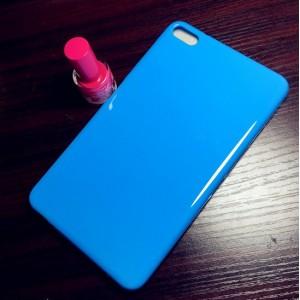 Силиконовый глянцевый непрозрачный чехол для Huawei MediaPad T2 7.0 Pro Синий
