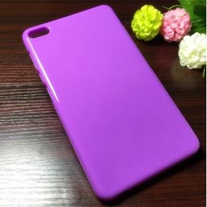 Силиконовый глянцевый непрозрачный чехол для Huawei MediaPad T2 7.0 Pro Фиолетовый
