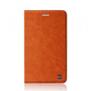 Винтажный кожаный чехол книжка подставка на транспарентной силиконовой основе для Huawei MediaPad T2 7.0 Pro