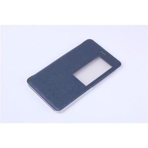 Чехол книжка подставка на транспарентной поликарбонатной основе с окном вызова для Huawei MediaPad T2 7.0 Pro