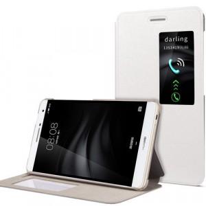 Чехол книжка подставка на непрозрачной поликарбонатной основе для Huawei MediaPad T2 7.0 Pro