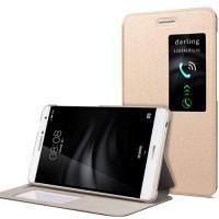 Чехол книжка подставка на непрозрачной поликарбонатной основе для Huawei MediaPad T2 7.0 Pro  Бежевый