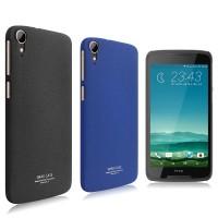 Пластиковый непрозрачный матовый чехол с повышенной шероховатостью для HTC Desire 828