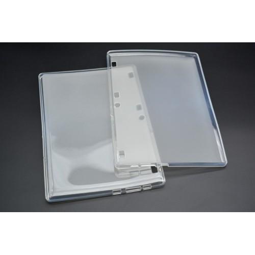 Силиконовый матовый транспарентный чехол для Lenovo Tab 2 A10/Tab 3 10 Business Белый