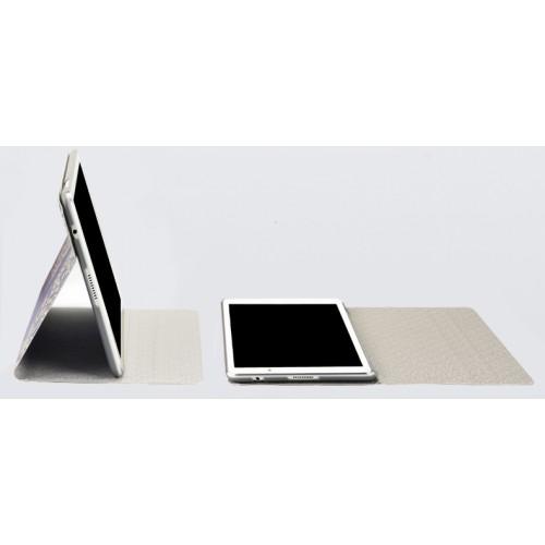 Чехол книжка подставка на полупрозрачной поликарбонатной основе с полноповерхностным принтом для Lenovo Tab 2 A10-30