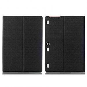 Чехол книжка подставка на непрозрачной поликарбонатной основе текстура Металлик для Lenovo Tab 2 A10-30/Tab 10 TB-X103F