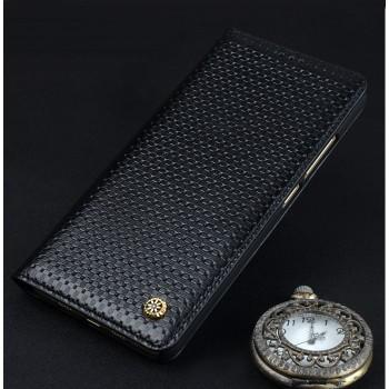 Кожаный чехол горизонтальная книжка (премиум нат. кожа) для ZTE Nubia Z11 Mini