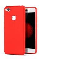 Силиконовый матовый непрозрачный чехол для ZTE Nubia Z11 Mini  Красный