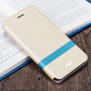 Чехол горизонтальная книжка подставка текстура Линии на силиконовой основе для ZTE Nubia Z11 Mini