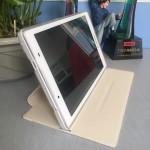 Чехол книжка подставка на транспарентной силиконовой основе для Lenovo Tab 2 A8