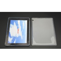 Силиконовый матовый полупрозрачный чехол для Lenovo IdeaTab A7600 Белый