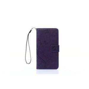 Чехол портмоне подставка текстура Узоры на силиконовой основе на магнитной защелке для Sony Xperia X Performance