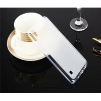 Силиконовый матовый полупрозрачный чехол для LG X Style  Белый