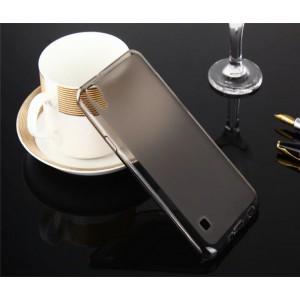 Силиконовый матовый полупрозрачный чехол для LG X Style