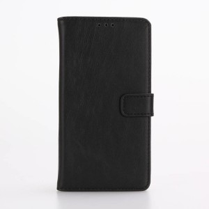 Винтажный чехол портмоне подставка на пластиковой основе на магнитной защелке для LG X Style