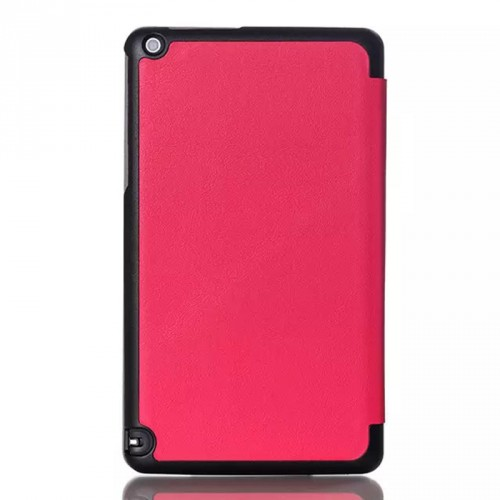 Сегментарный чехол книжка подставка на непрозрачной поликарбонатной основе для Nvidia Shield Tablet