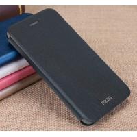 Чехол горизонтальная книжка подставка на силиконовой основе для Huawei GR3  Черный