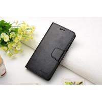 Чехол портмоне подставка на силиконовой основе на магнитной защелке для Huawei GR3  Черный