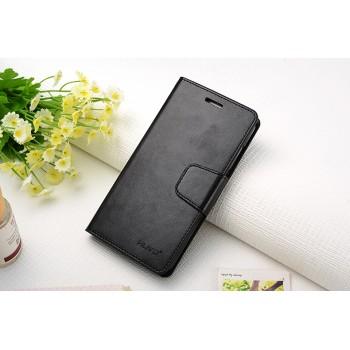 Чехол портмоне подставка на силиконовой основе на магнитной защелке для Huawei GR3