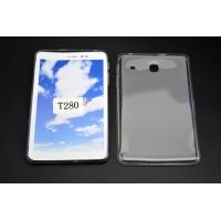 Силиконовый матовый полупрозрачный чехол для Samsung Galaxy Tab A 7 (2016) Белый