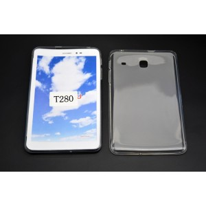 Силиконовый матовый полупрозрачный чехол для Samsung Galaxy Tab A 7 (2016)