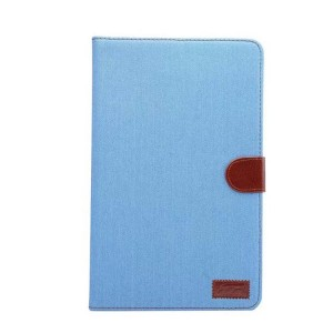 Чехол книжка подставка на непрозрачной поликарбонатной основе с магнитной защелкой и отсеком для карт для Samsung Galaxy Tab A 10.1 (2016)