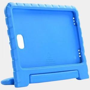 Ударостойкий детский силиконовый матовый гиппоаллергенный непрозрачный чехол с встроенной ножкой-подставкой для Samsung Galaxy Tab A 10.1 (2016)