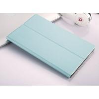 Чехол книжка подставка на непрозрачной поликарбонатной основе для Samsung Galaxy Tab A 10.1 (2016)  Голубой