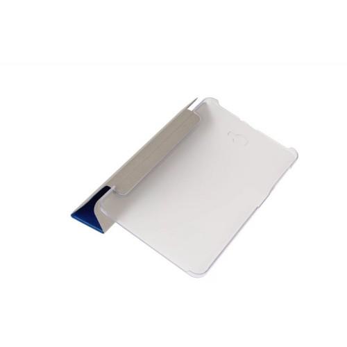 Сегментарный чехол книжка подставка на транспарентной поликарбонатной основе для Samsung Galaxy Tab A 10.1 (2016)