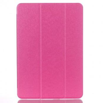 Сегментарный чехол книжка подставка на транспарентной поликарбонатной основе для Samsung Galaxy Tab A 10.1 (2016)  Пурпурный