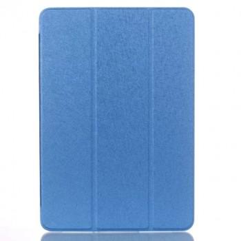 Сегментарный чехол книжка подставка на транспарентной поликарбонатной основе для Samsung Galaxy Tab A 10.1 (2016)  Синий