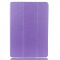 Сегментарный чехол книжка подставка на транспарентной поликарбонатной основе для Samsung Galaxy Tab A 10.1 (2016)  Фиолетовый