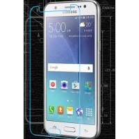 Ультратонкое износоустойчивое сколостойкое олеофобное защитное стекло-пленка для Samsung Galaxy J5 (2016)