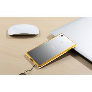 Металлический округлый бампер сборного типа на винтах для Sony Xperia Z5