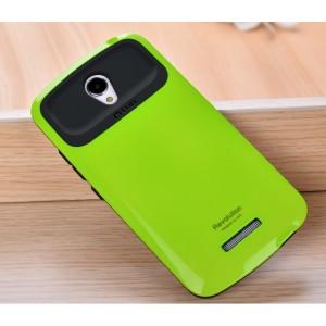 Силиконовый глянцевый непрозрачный дизайнерский фигурный чехол для Xiaomi RedMi Note 2 Зеленый
