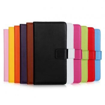 Чехол портмоне подставка на пластиковой основе на магнитной защелке для Sony Xperia Z5 Compact