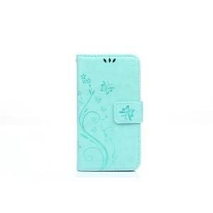 Чехол портмоне подставка текстура Узоры на силиконовой основе на магнитной защелке для Sony Xperia Z5 Compact  Зеленый