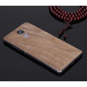 Экстратонкая клеевая натуральная деревянная накладка для Huawei Honor 7