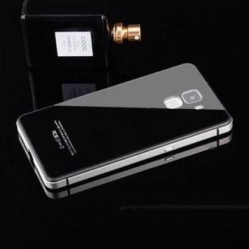 Двухкомпонентный чехол c металлическим бампером с поликарбонатной накладкой для Huawei Honor 7